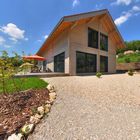 Panoramas 360HD - Maison Bois Garnache