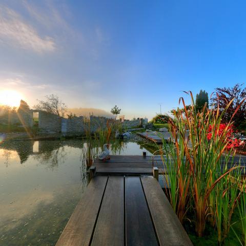 Découverte en 360° des travaux des Jardins Comtois